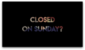 sunday-close